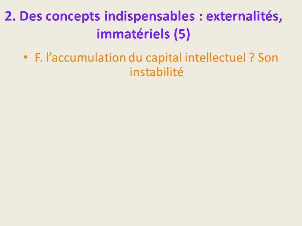 2. Des concepts indispensables : externalités, immatériels (5)
