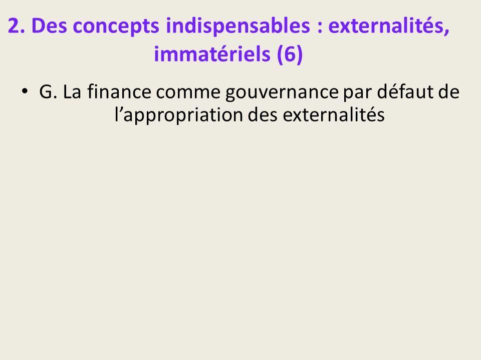 2. Des concepts indispensables : externalités, immatériels (6)