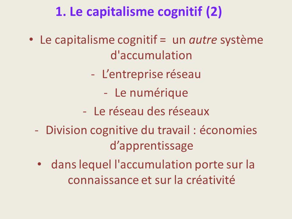 1. Le capitalisme cognitif (2)