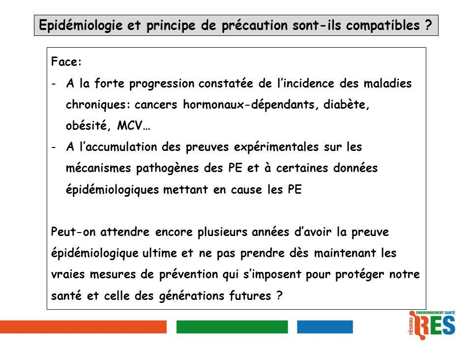 Epidémiologie et principe de précaution sont-ils compatibles