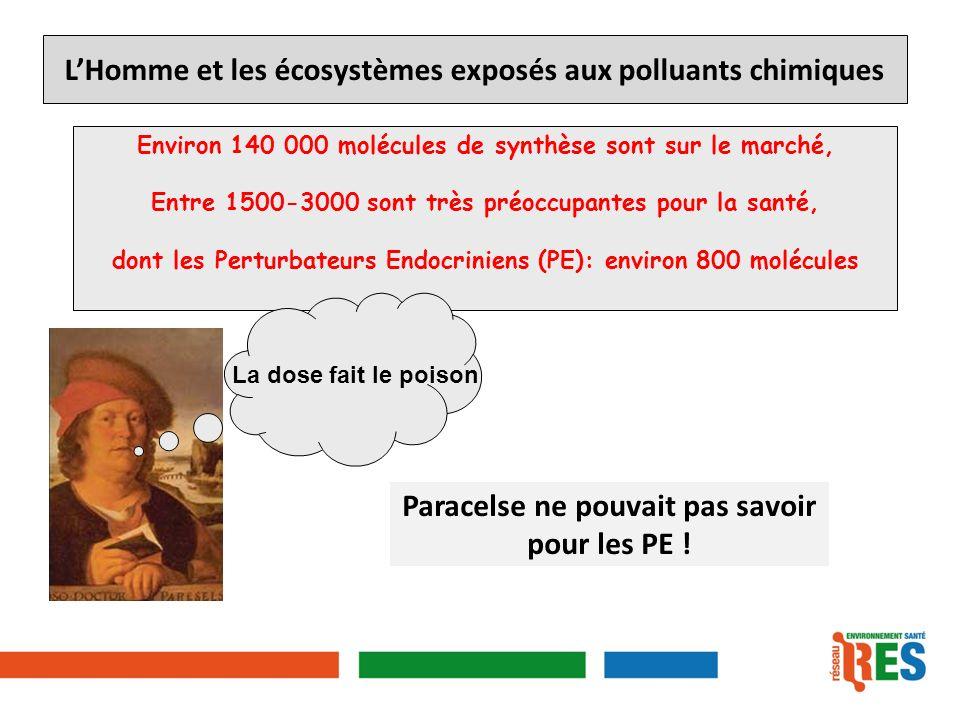 L'Homme et les écosystèmes exposés aux polluants chimiques