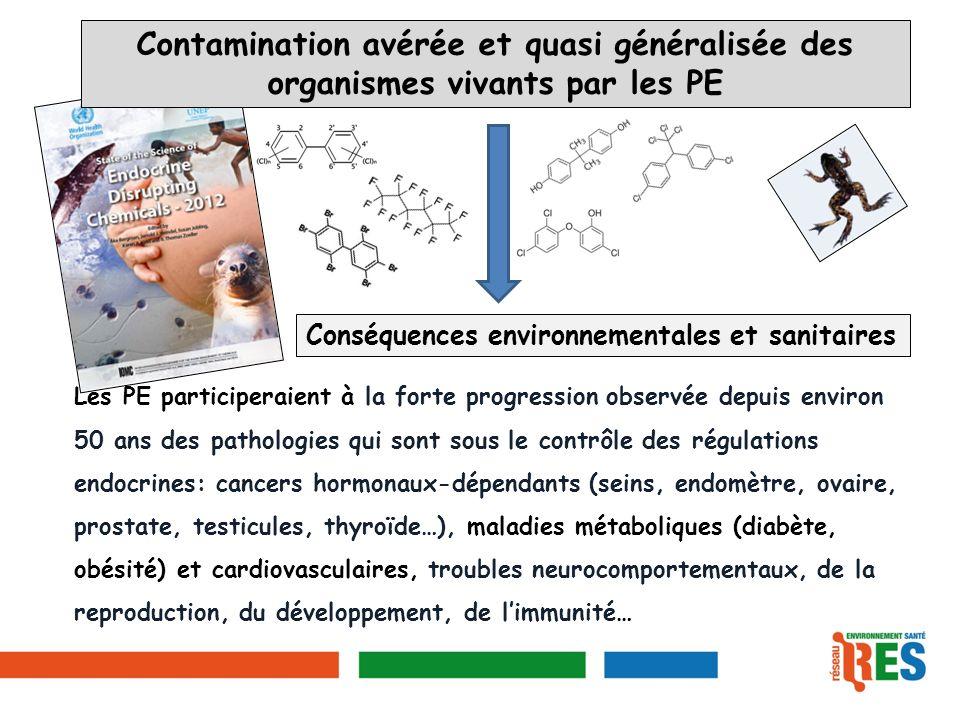 Contamination avérée et quasi généralisée des