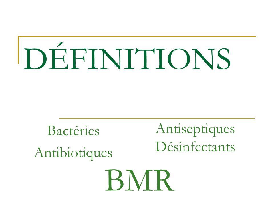 Bactéries Antibiotiques