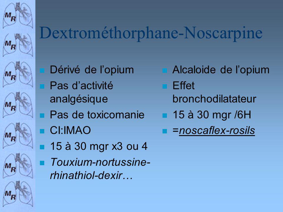 Dextrométhorphane-Noscarpine
