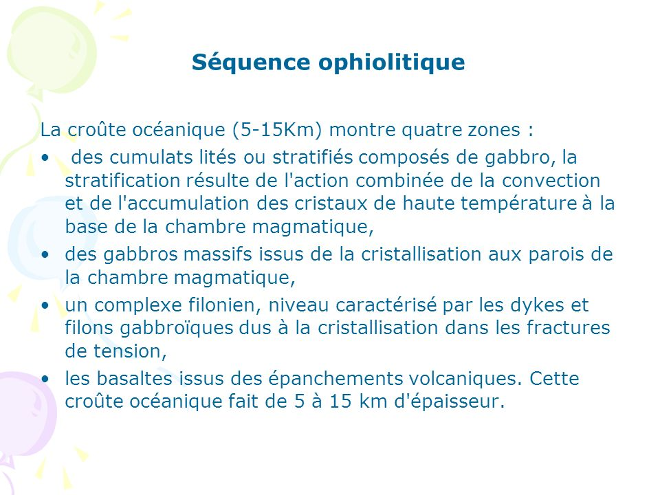 Séquence ophiolitique