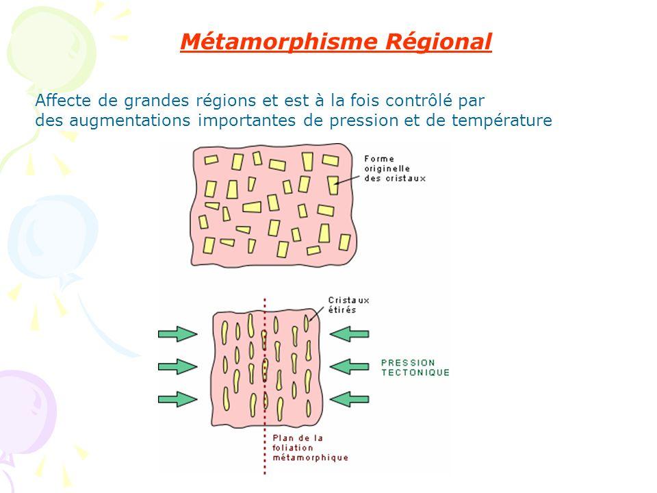 Métamorphisme Régional