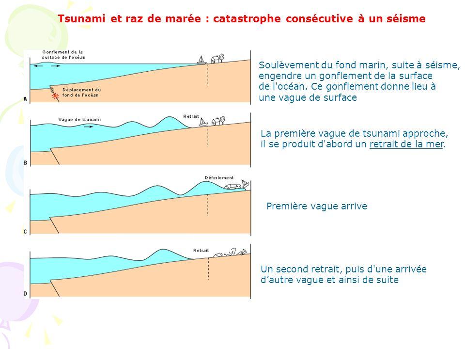 Tsunami et raz de marée : catastrophe consécutive à un séisme