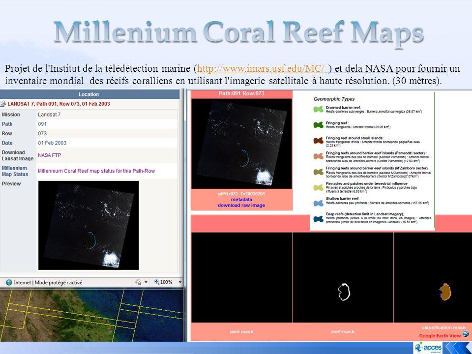 Millenium Coral Reef Maps
