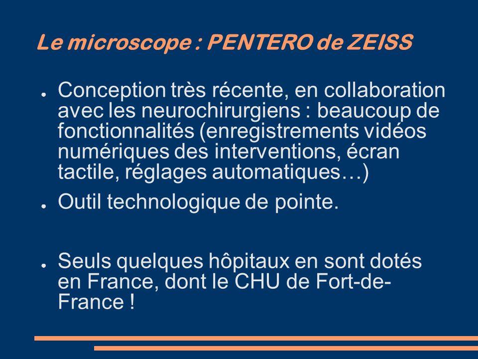Le microscope : PENTERO de ZEISS