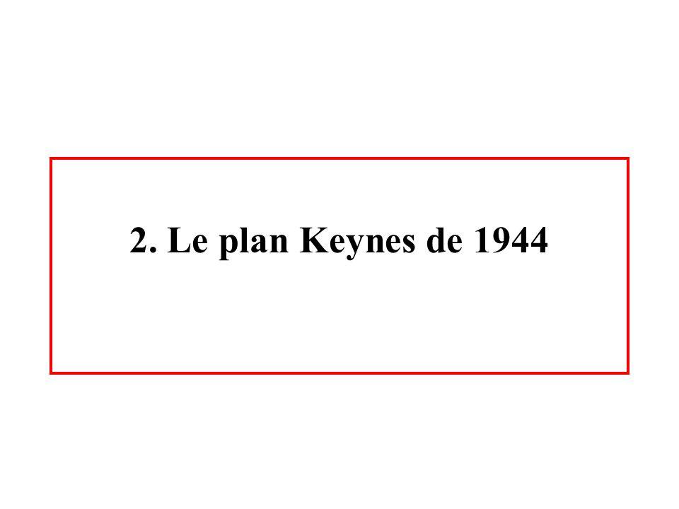 2. Le plan Keynes de 1944