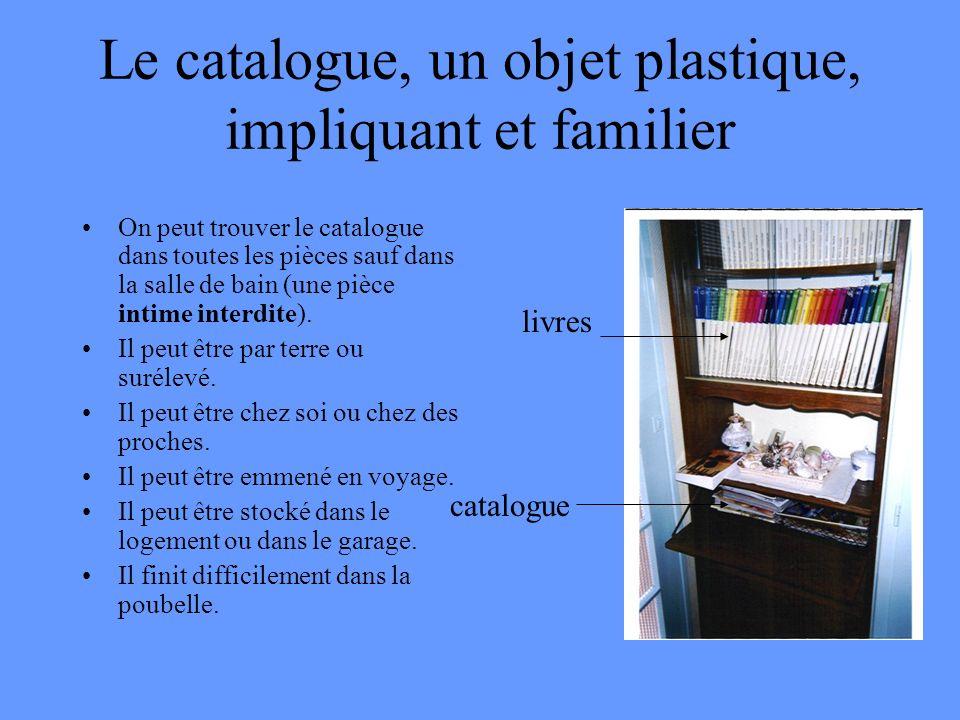 Le catalogue, un objet plastique, impliquant et familier
