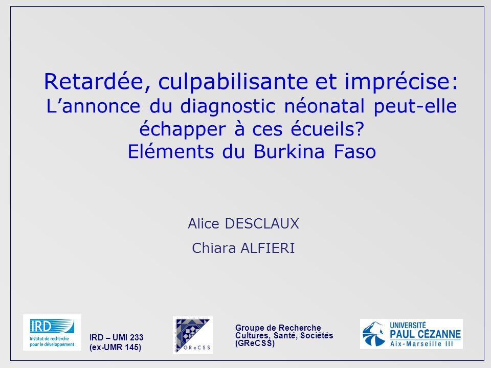 Groupe de Recherche Cultures, Santé, Sociétés (GReCSS)