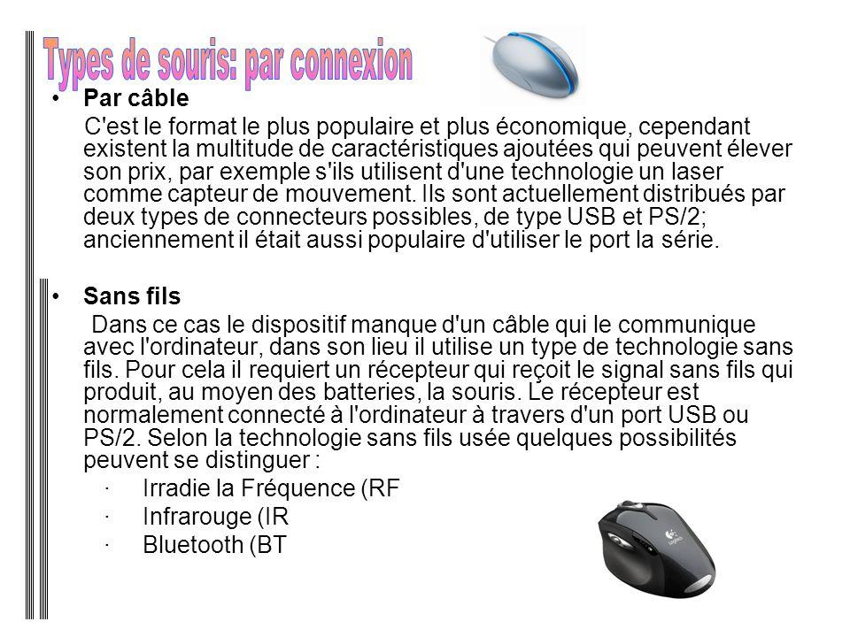 Types de souris: par connexion