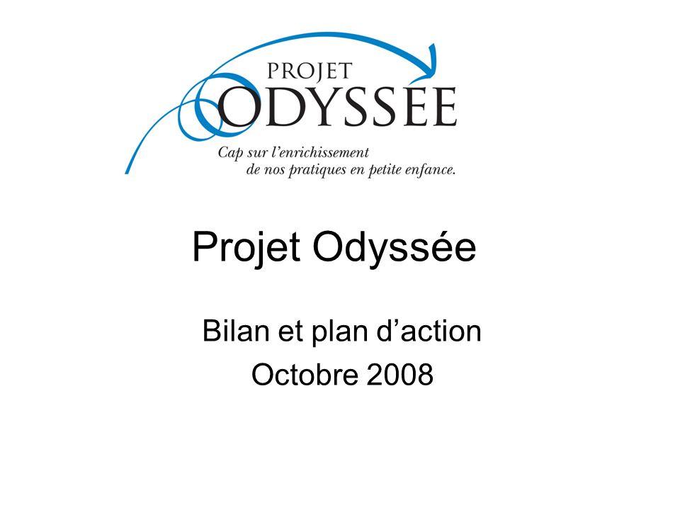 Bilan et plan d'action Octobre 2008