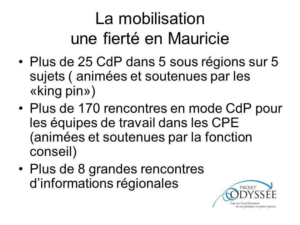 La mobilisation une fierté en Mauricie