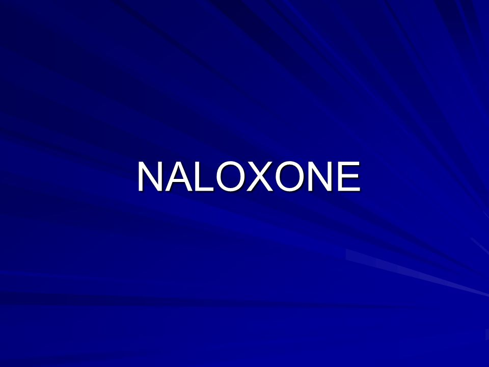 NALOXONE