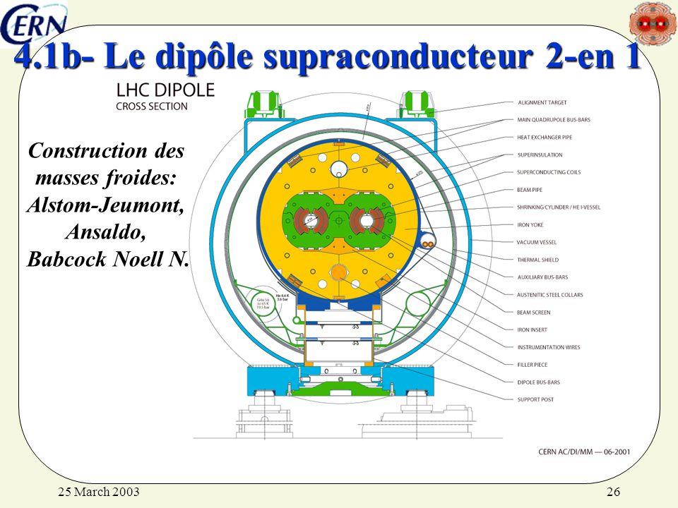 4.1b- Le dipôle supraconducteur 2-en 1