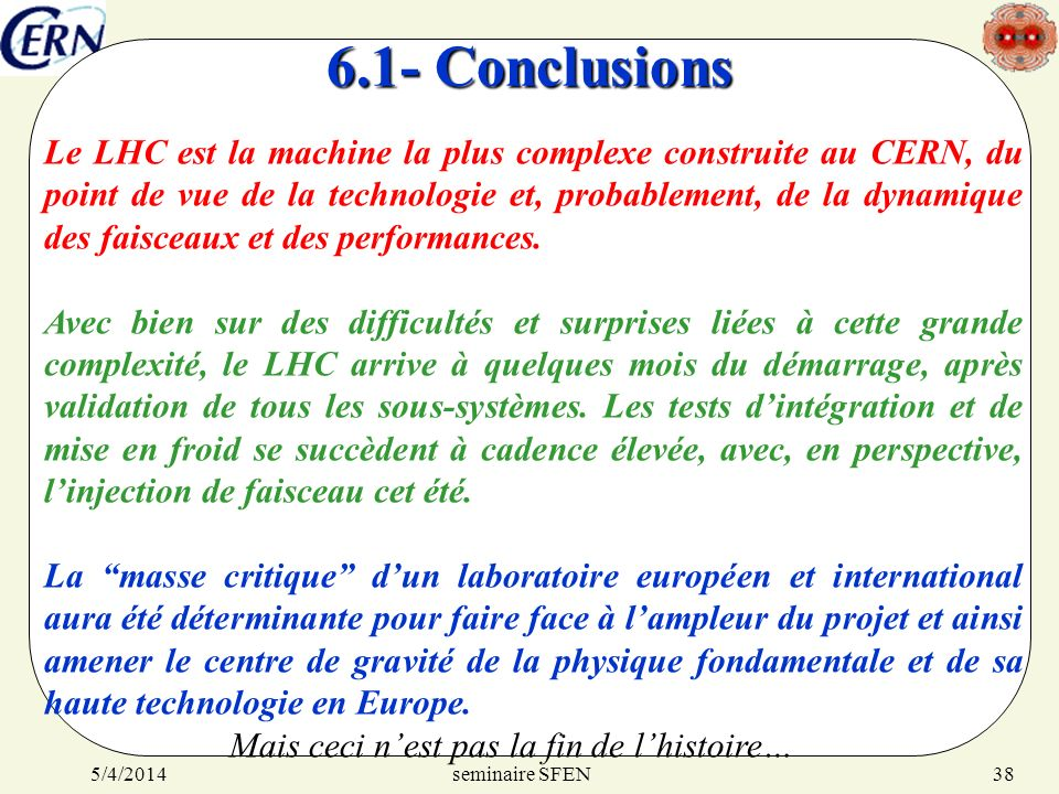 6.1- Conclusions