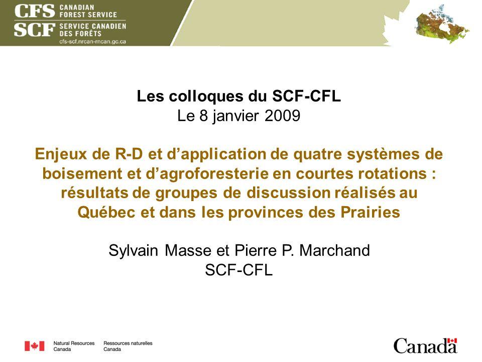 Les colloques du SCF-CFL