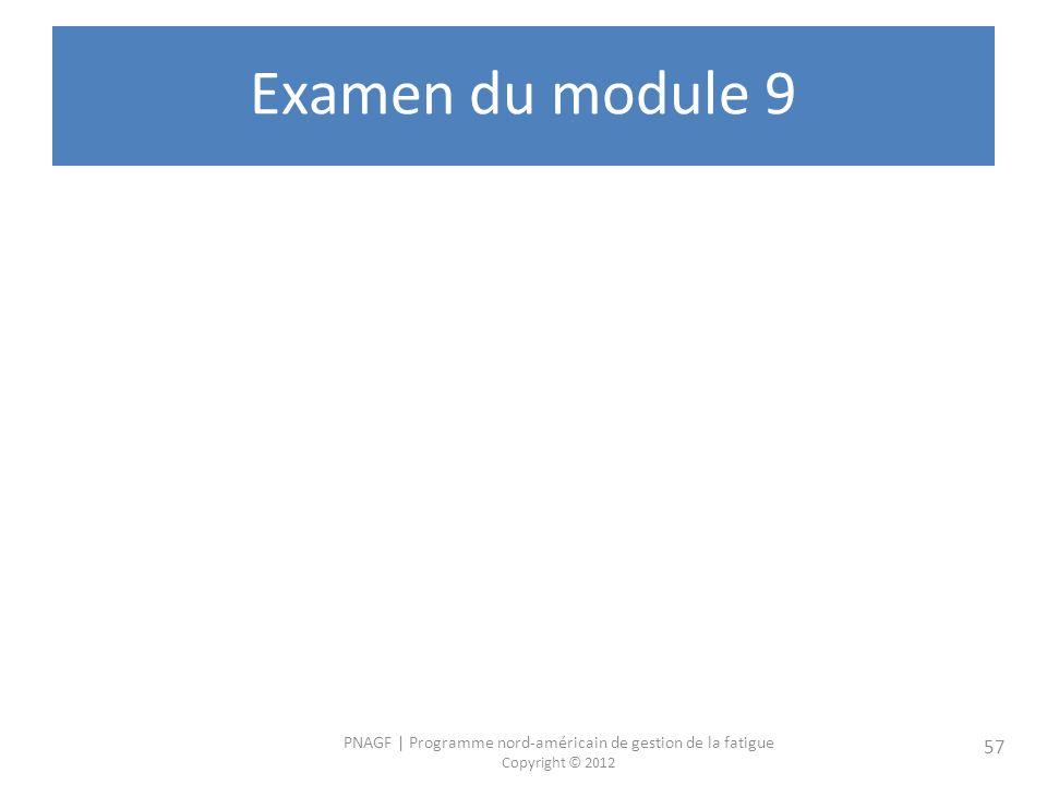 Examen du module 9