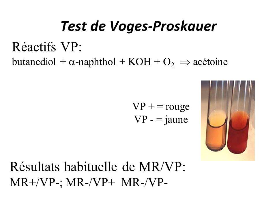 Test de Voges-Proskauer