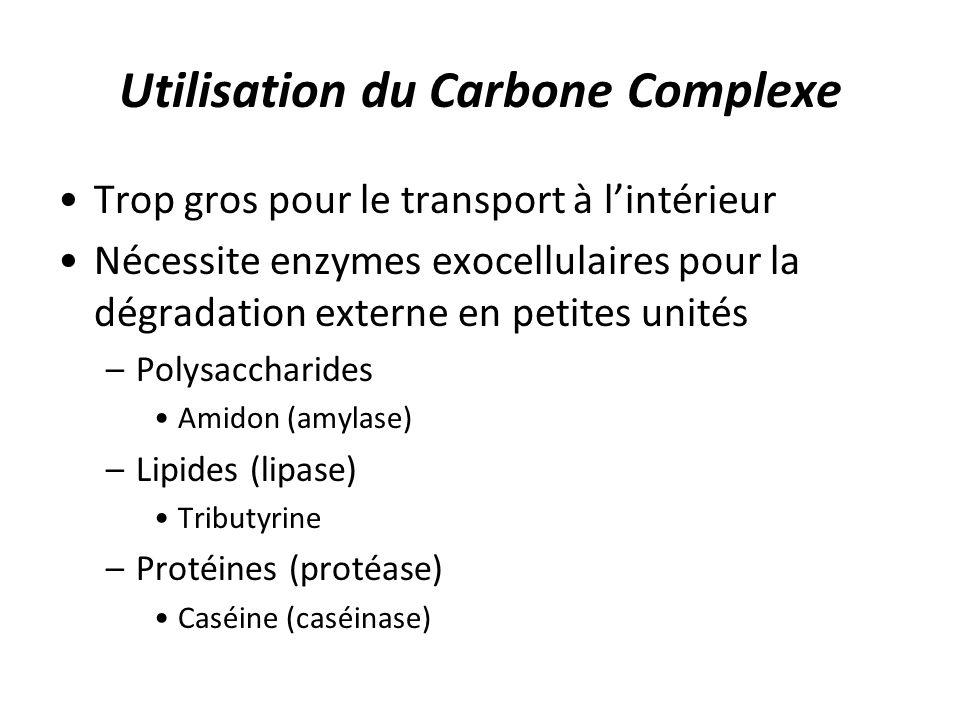 Utilisation du Carbone Complexe