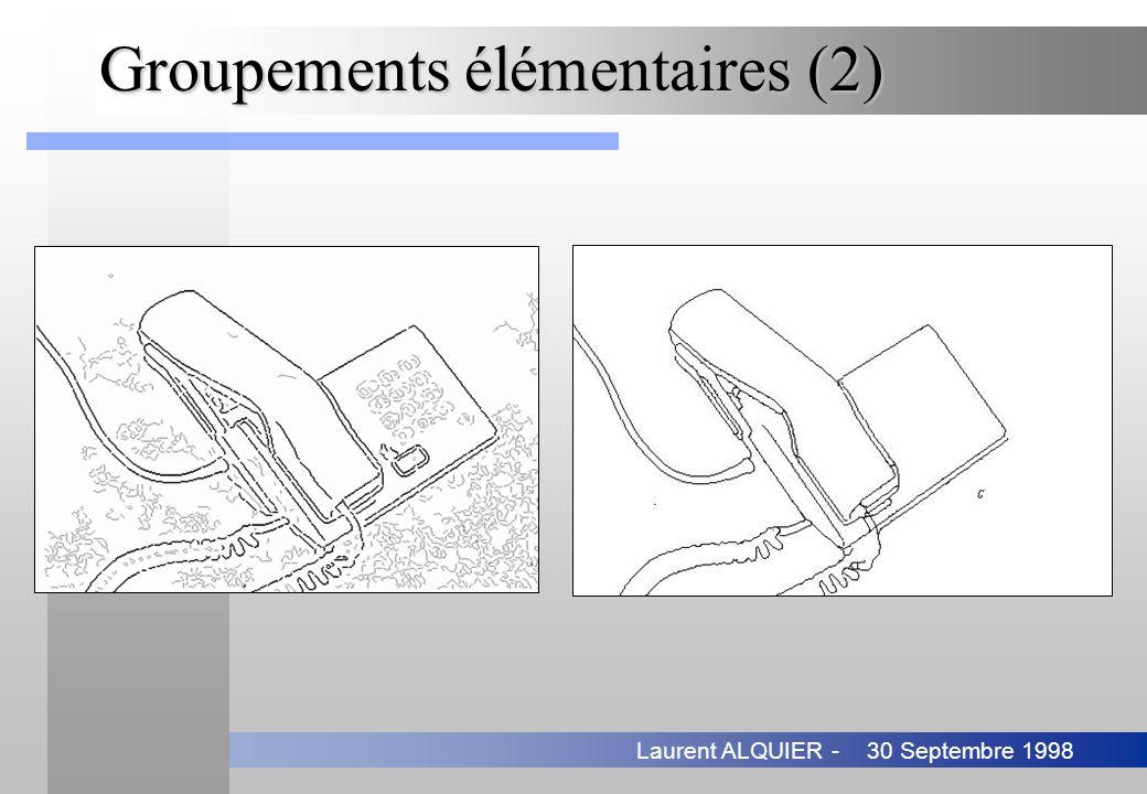 Groupements élémentaires (2)