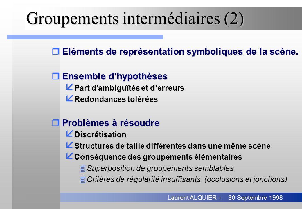 Groupements intermédiaires (2)