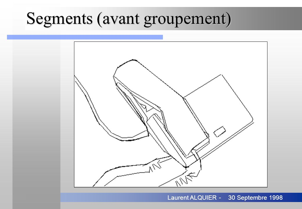 Segments (avant groupement)