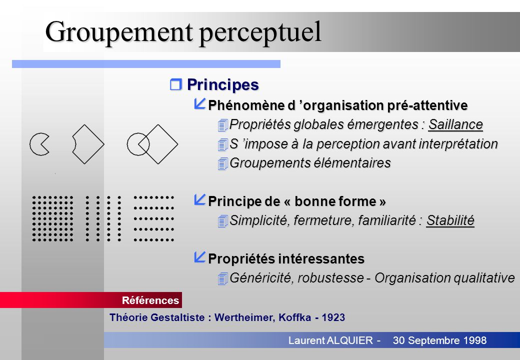 Groupement perceptuel