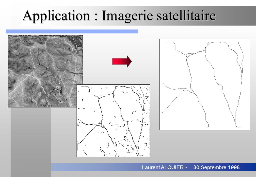 Application : Imagerie satellitaire