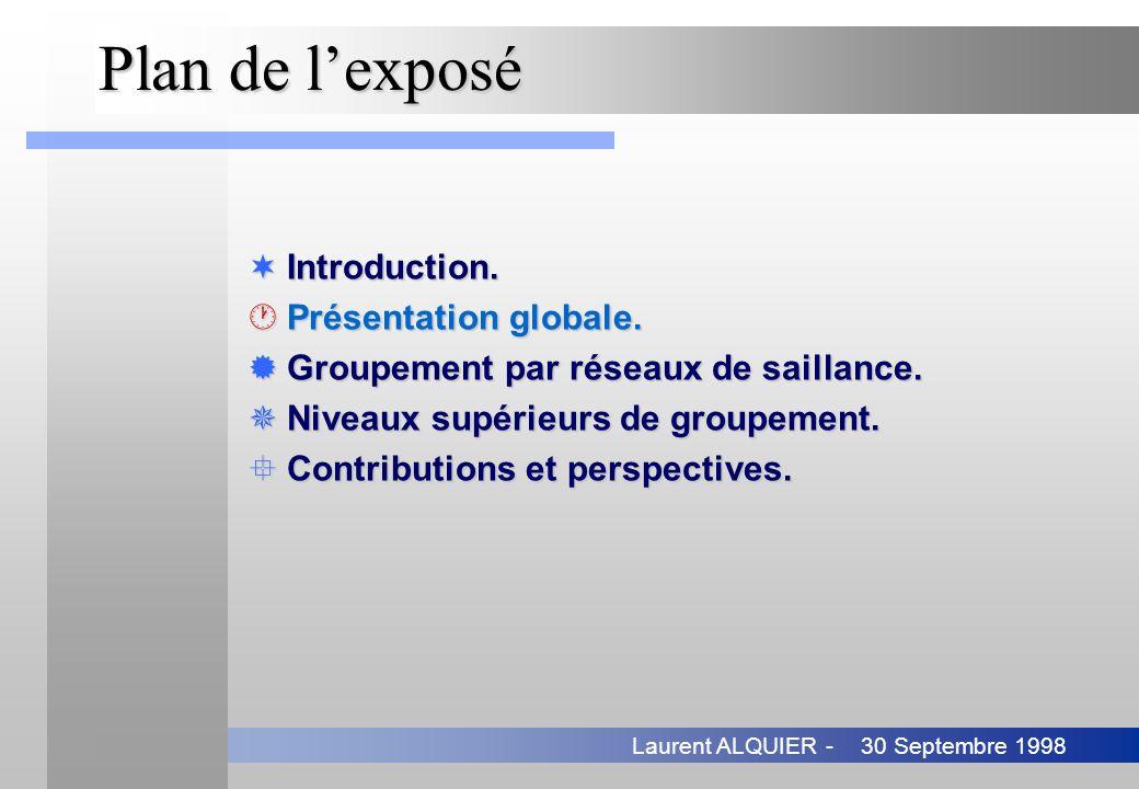 Plan de l'exposé Introduction. Présentation globale.