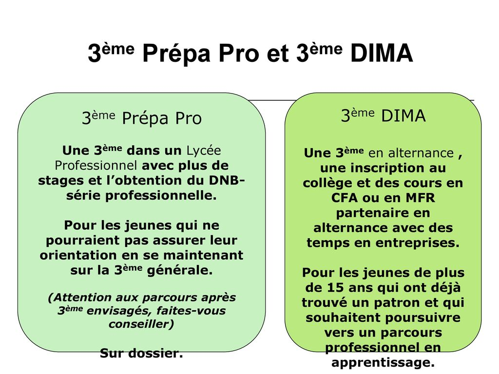 information - orientation 4 u00e8me