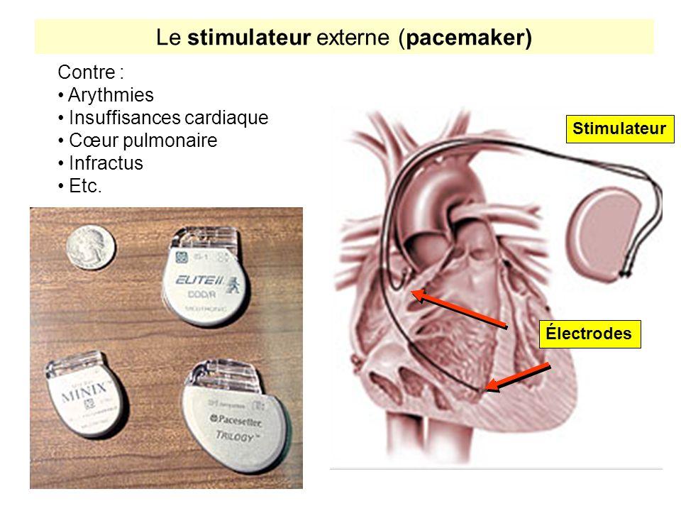 Le stimulateur externe (pacemaker)