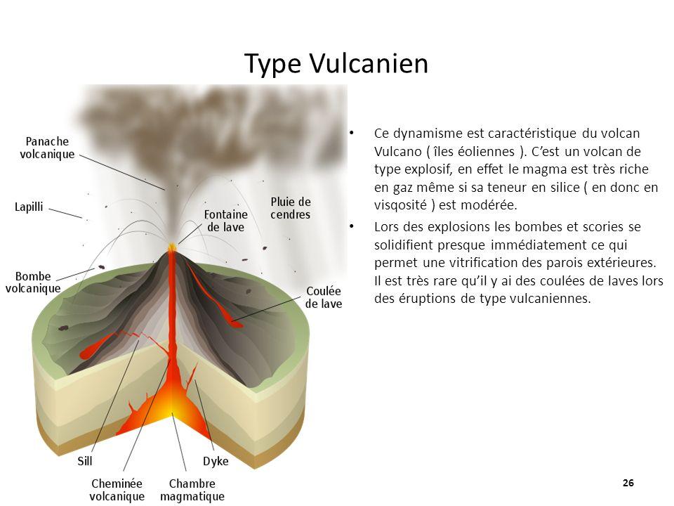 Type Vulcanien
