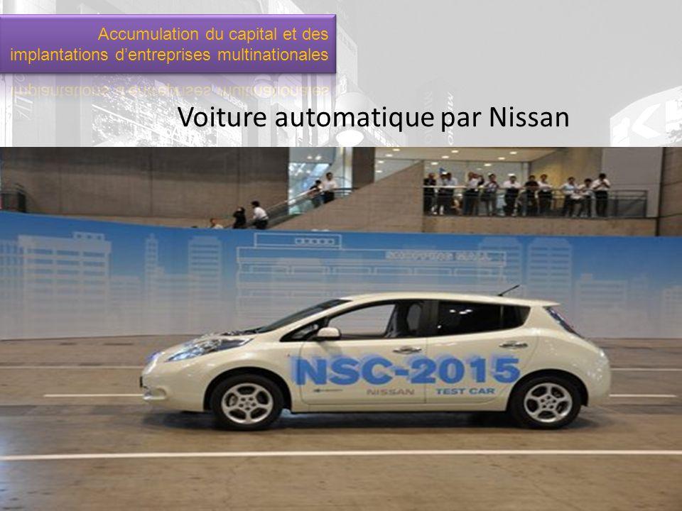 Voiture automatique par Nissan