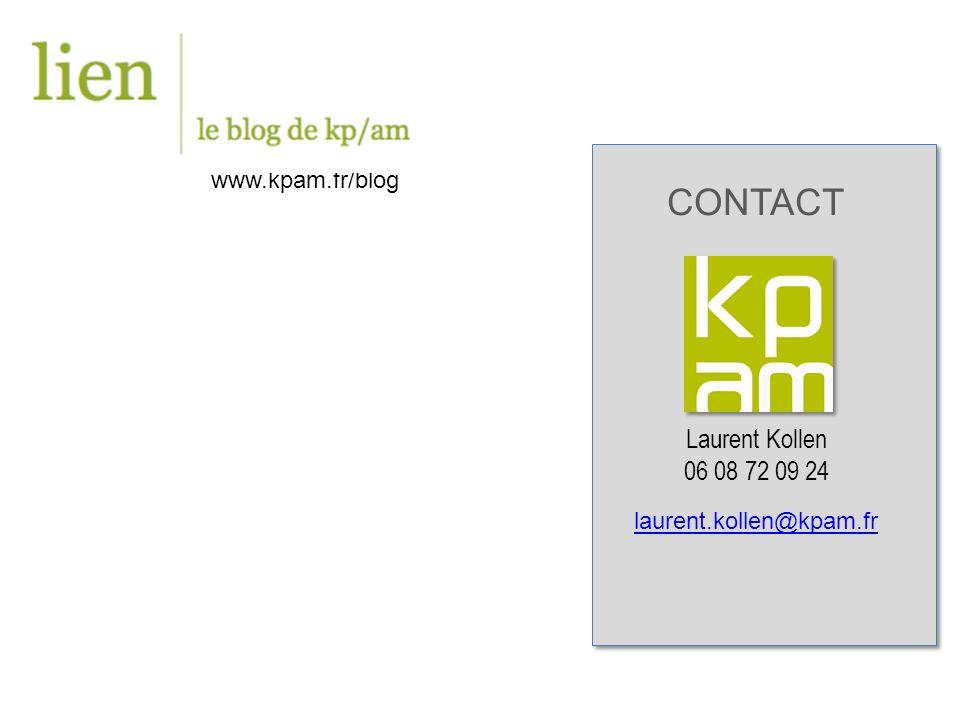 CONTACT 06 08 72 09 24 www.kpam.fr/blog Laurent Kollen