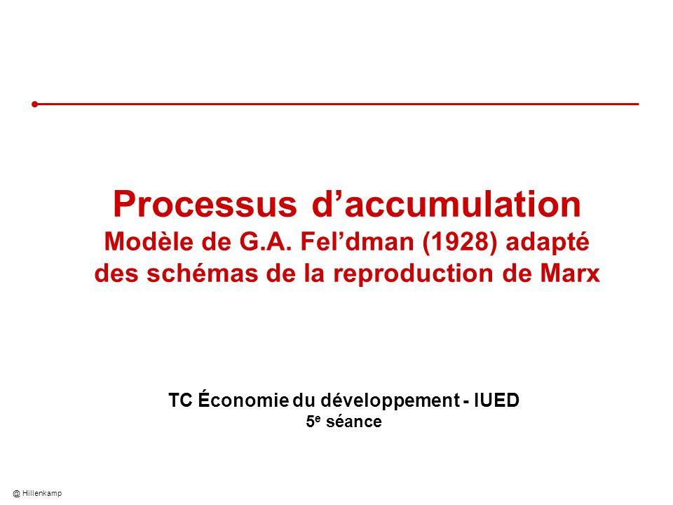 TC Économie du développement - IUED