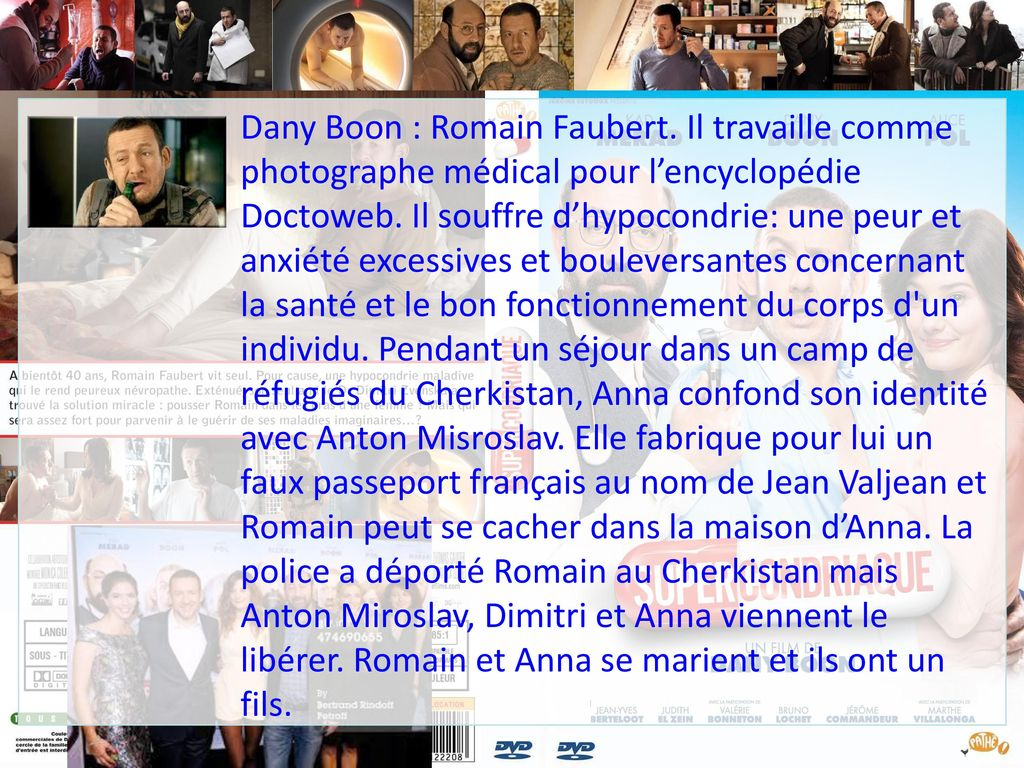 Dany Boon : Romain Faubert