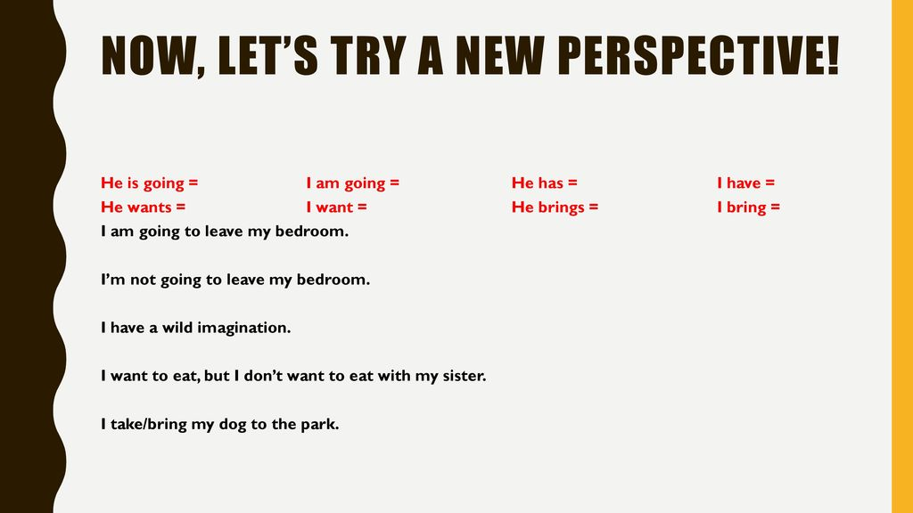 Now, let's try a new perspective!