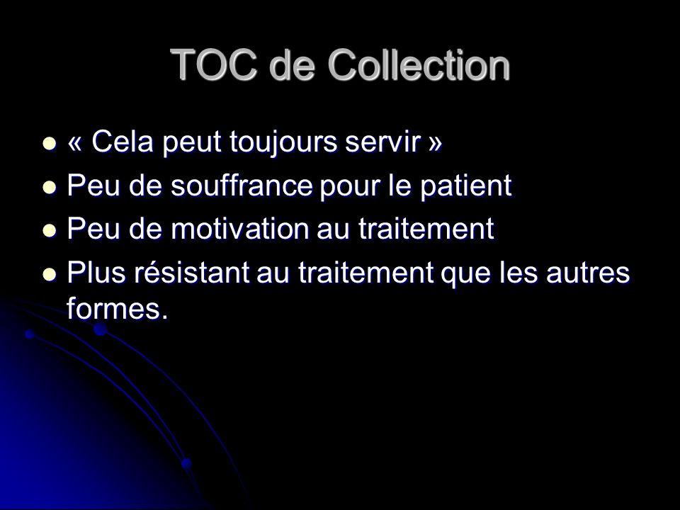 TOC de Collection « Cela peut toujours servir »