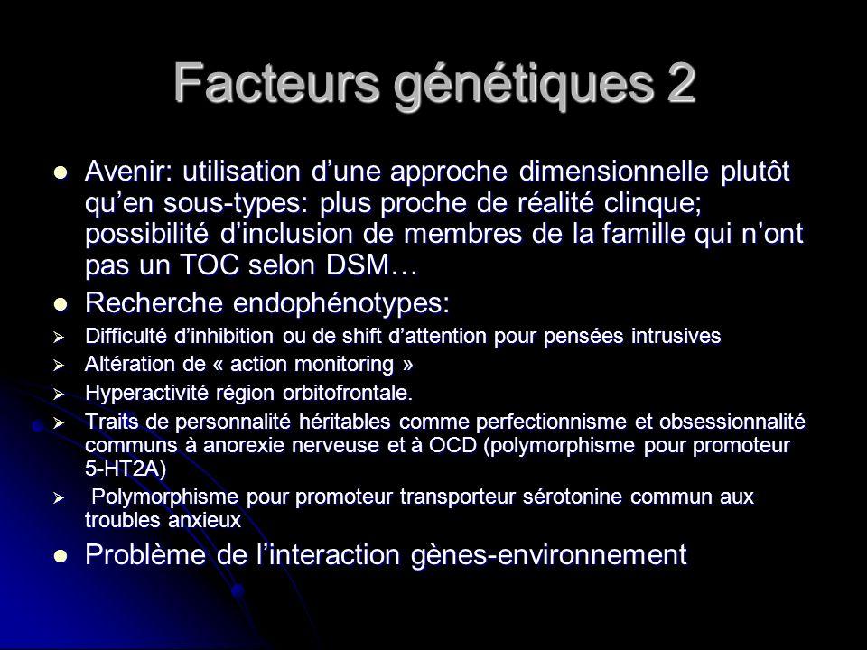 Facteurs génétiques 2