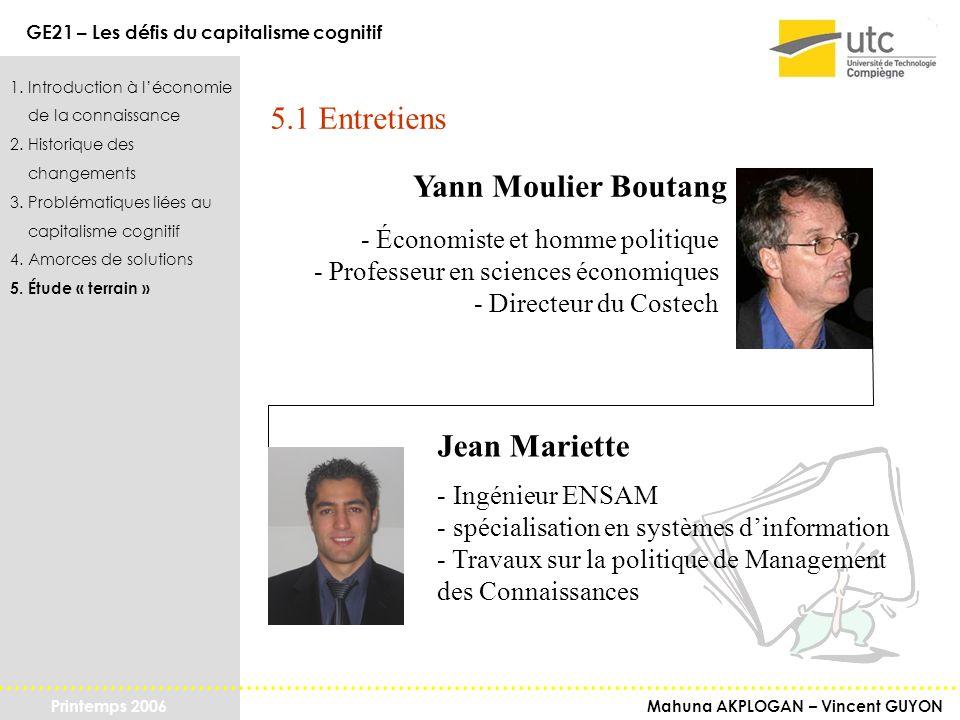 5.1 Entretiens Yann Moulier Boutang Jean Mariette