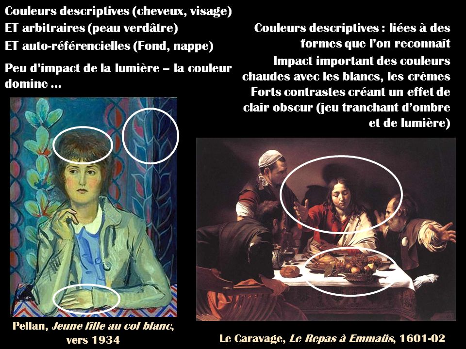 Le Caravage, Le Repas à Emmaüs, 1601-02