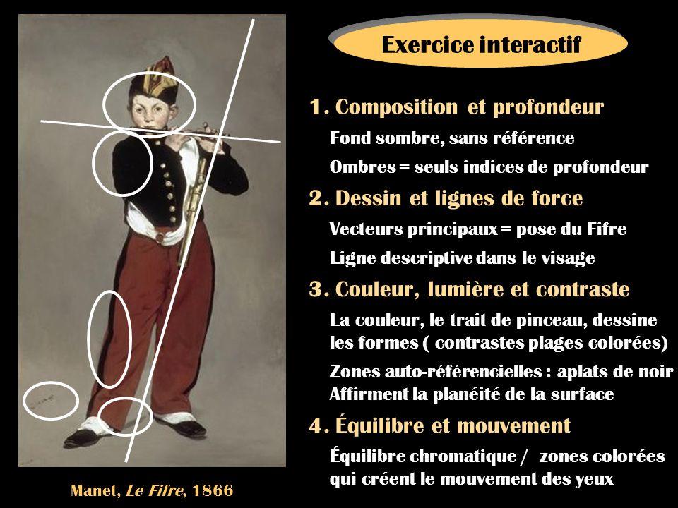 Exercice interactif 1. Composition et profondeur