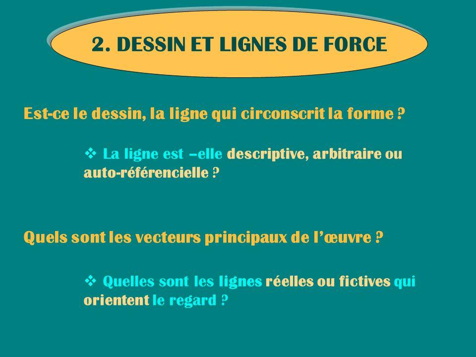 2. DESSIN ET LIGNES DE FORCE