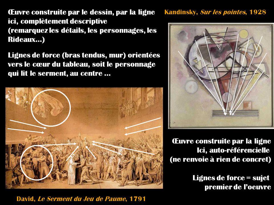 Kandinsky, Sur les pointes, 1928