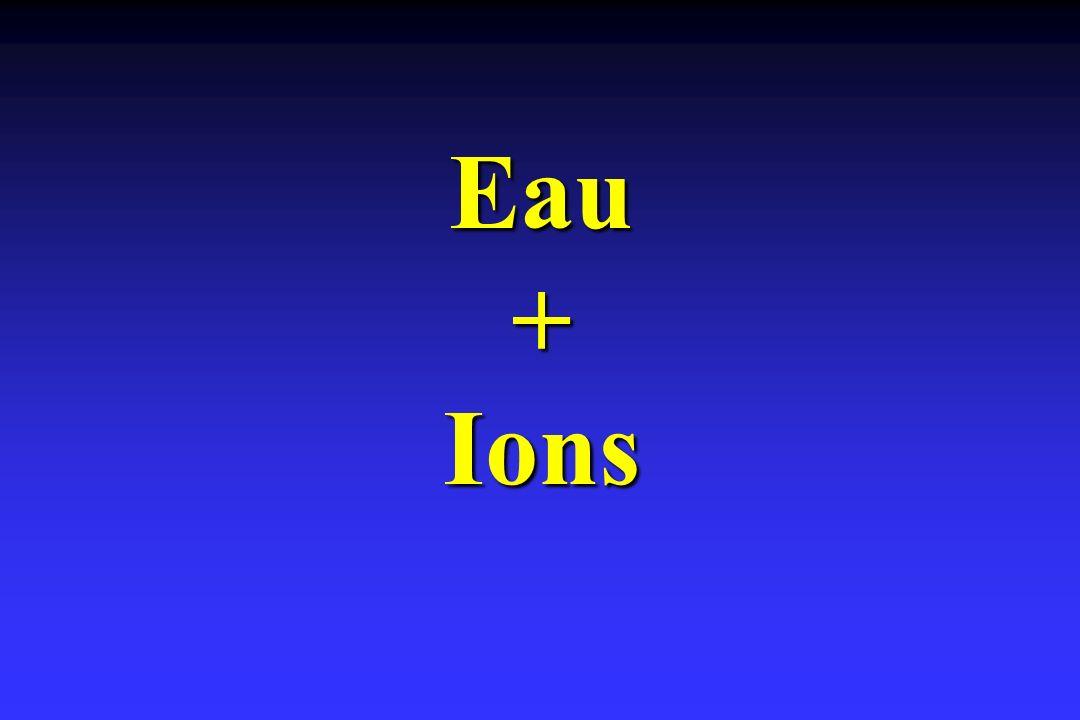 Eau + Ions
