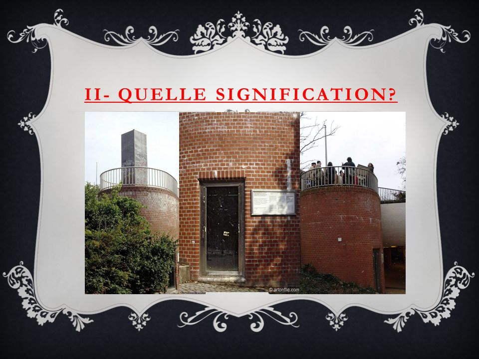 II- Quelle signification