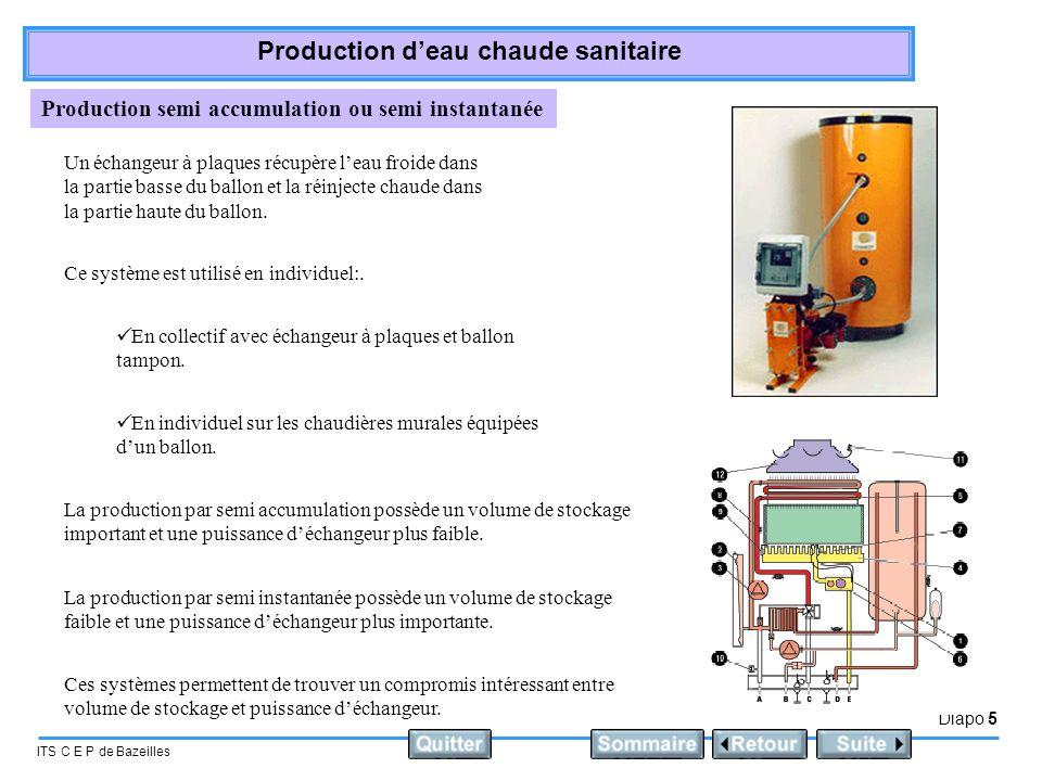 Production semi accumulation ou semi instantanée